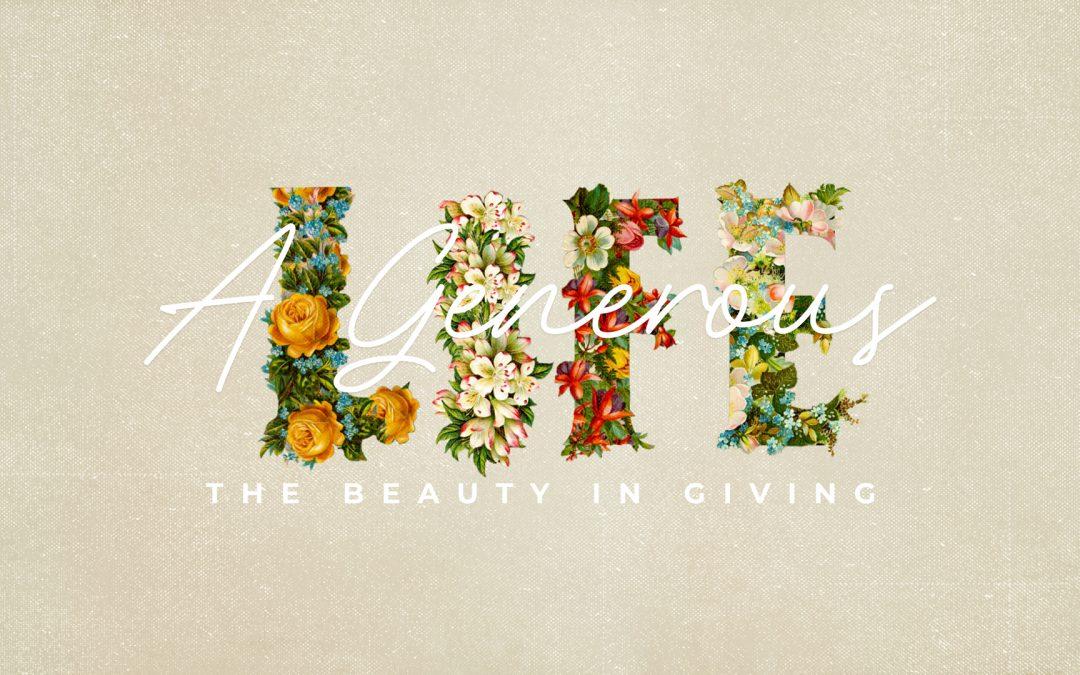 A Generous Hope